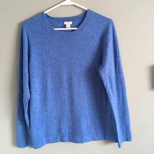 J. Crew Light Blue Sweater